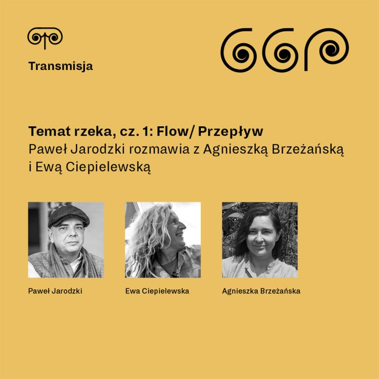 <b>Temat rzeka, cz. 1:</b>Flow/ Przepływ – Spotkanie z Agnieszką Brzeżańską i Ewą Ciepielewską